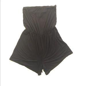 ASOS Curve TubeTop Shorts Romper 18